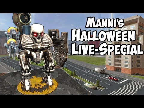 War Robots Halloween Live-Special with Manni
