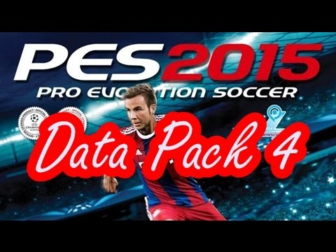 PES 2015 Data Pack 4 İndirme Ve Kurma