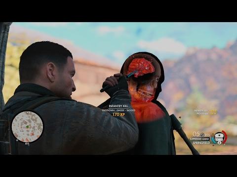 Sniper Elite 4: Brutal Kill Compilation Vol.1 (Melee, Explosive & Bullet Killcams)