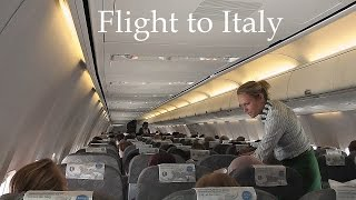 ITALY: flight to Treviso Airport, arrival Venice [HD]