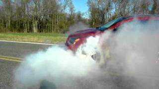 Caliber SRT4 Burnout