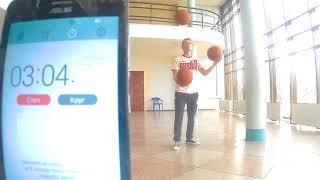Самое продолжительное время жонглирования баскетбольными мячами