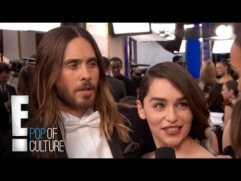Jared Leto Macks on Emilia Clarke  E! Entertainment