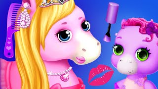 Fun Pony Care Games -  Hair Salon & Dress Up - Top 5 Best Pony & Horse Games For Kids & Girls