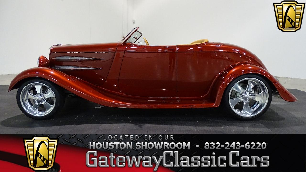 1934 Ford Roadster #616 HOU Gateway Classic Cars Houston - YouTube