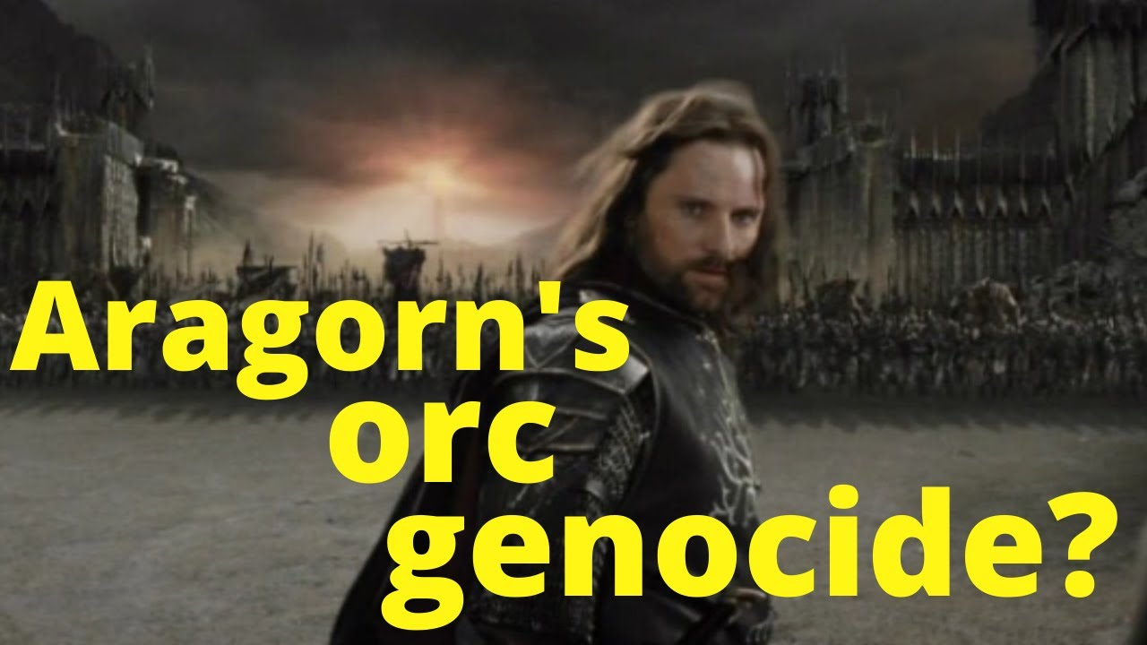Did Aragorn kill all the baby orcs?