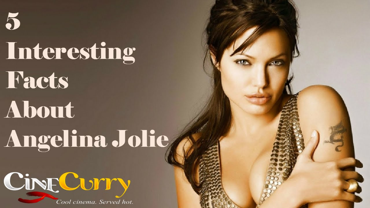 5 Things We Bet You Didn't Know About Angelina Jolie