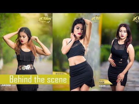 Nepali Models Photo Shoot    Golden House Fashion Night Promotional Shoot