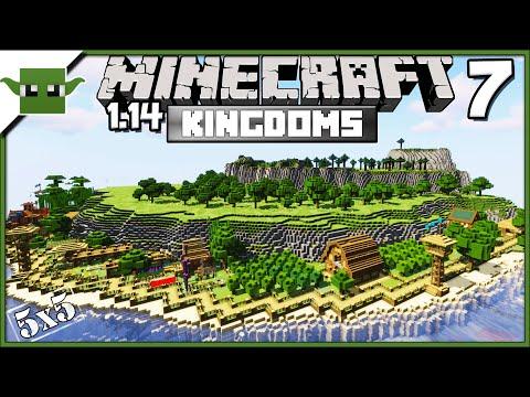 minecraft-1.14-medieval-island-kingdom-lets-build-s2e7--farms-n'-barns