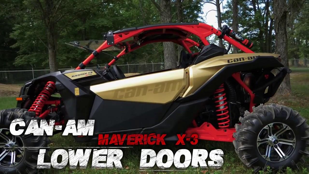 Can-Am Maverick X3 Lower Doors