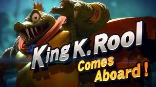 King K. Rool in Super Smash Bros. Ultimate - REVEAL TRAILER