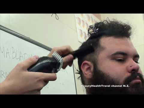 Clipper cut Faux-hawk Smoky fade haircut Class: Beginner