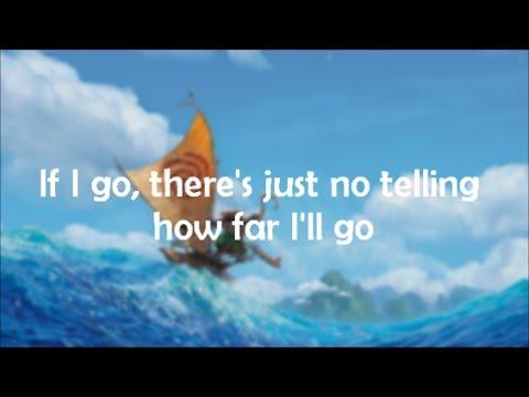 """Lyrics: """"How Far I'll Go"""" (Alessia Cara version) from Disney's Moana"""