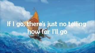 : How Far Ill Go Alessia Cara  from Disneys Moana