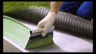 Укладка искуственной травы материалами компании Mapei(Укладка искуственной травы материалами итальянской компании Mapei. Подробная информация о товарах на сайте:..., 2012-06-18T09:48:34.000Z)