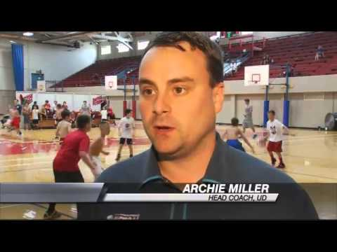 Giving Back: Archie Miller Basketball Camps - YouTube