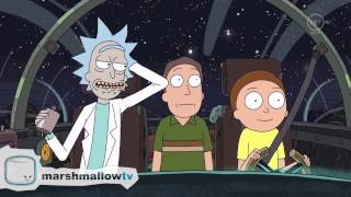 Rick and Morty - Wow…Du warst die ganze Zeit hier drin? [deutsch, german]