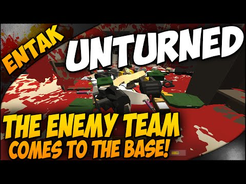 Unturned Multiplayer ➤ BASE TOUR & End Of Season 1 - Enemy Team Comes To The Base = C4! [#31]