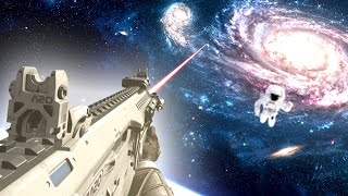 IMPOSSIBLE GUN GAME IN SPACE! (COD Infinite Warfare)