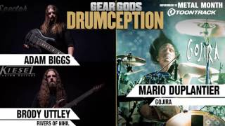 RIVERS OF NIHIL's Brody Uttley and Adam Biggs x GOJIRA's Mario Duplantier - DRUMCEPTION | GEAR GODS