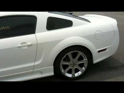 2006 Saleen S281 Mustang Start Up Exhaust and Full Tour  YouTube