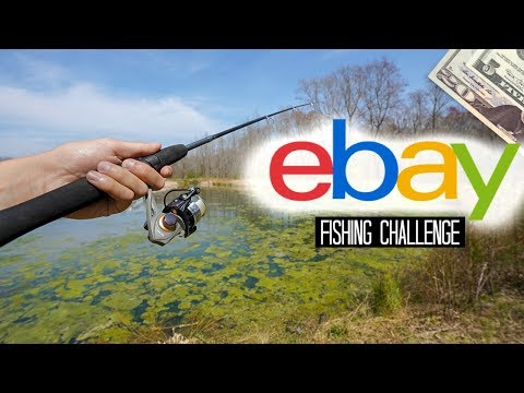 $25 EBay Fishing Challenge!! (Surprising!)