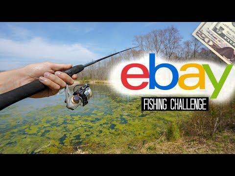 $25 EBay Fishing Challenge!! (Surprising!)