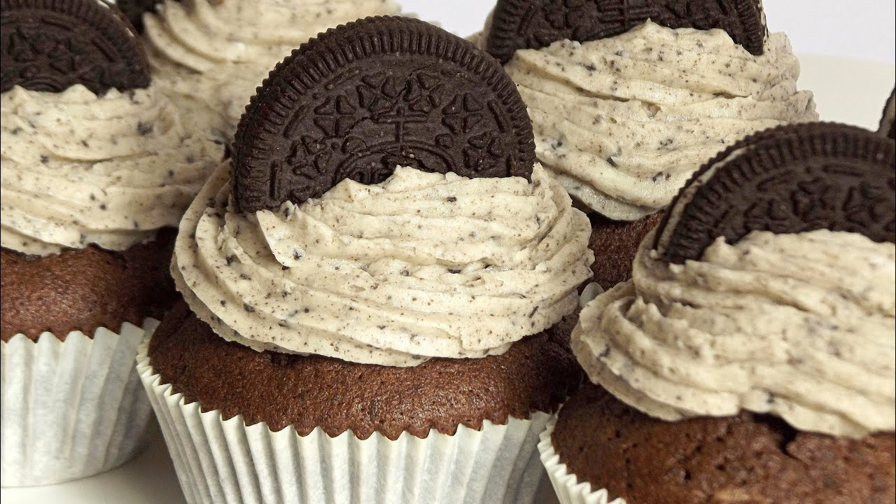 Oreo muffins mit creme