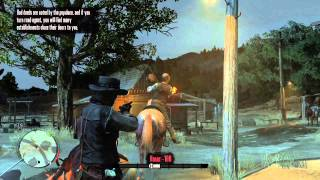 Red Dead Redemption - Free Roam with Cheats - Part 1