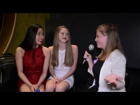Haley Hueslman and Jade Cloud Interview at High Strung LA Premiere