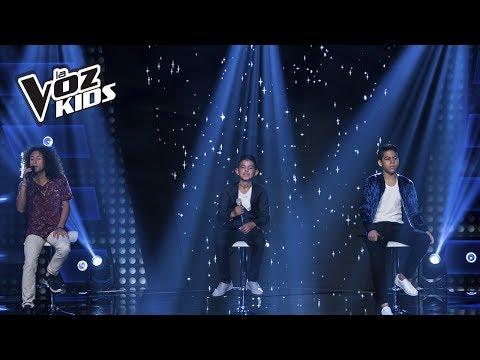 Juan Carlos, Luis Mario y Diego cantan Lo Mejor Que Hay En Mi Vida | La Voz Kids Colombia 2018