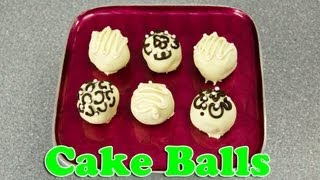 How To Make Cake Balls And Decorate Them