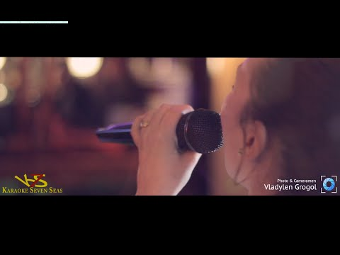 """Karaoke bar """"Seven Seas"""" 15.04.15 Lloret de Mar"""