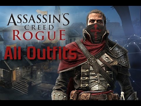 Assassins Creed Rogue All Outfits Costumes Part 1 Of 2 Youtube