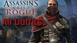 Assassins Creed Rogue - All Outfits/Costumes Part 1 of 2
