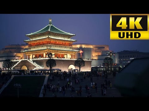 Xian, China 2017 In 4K 中国 西安 Ancient Capitals of China Amazing Street Food Best For Traveler