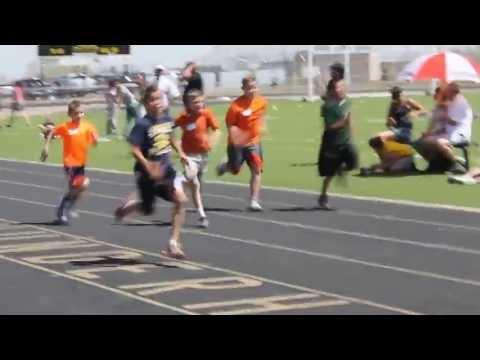 Gabriel Runs the 75 Meter Dash