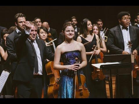 Inés Issel Plays Violin Concerto In D Minor, Op 47 By Jean Sibelius (mvt.1)
