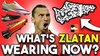 Ibrahimović's new boots?! what is zlatan wearing now?