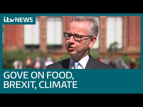 Full interview: Michael Gove on how government could fine companies over food waste | ITV News