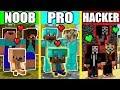 Minecraft - NOOB vs PRO vs HACKER : LOVE FAMILY BATTLE in Minecraft Animation