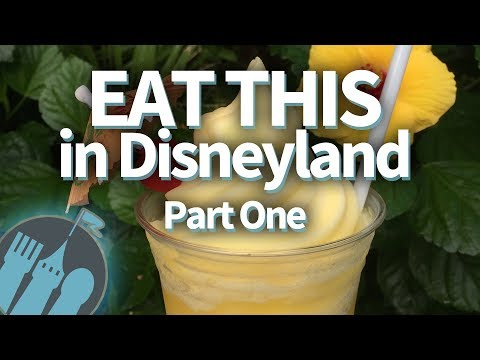 EAT THIS In Disneyland! (Part One)