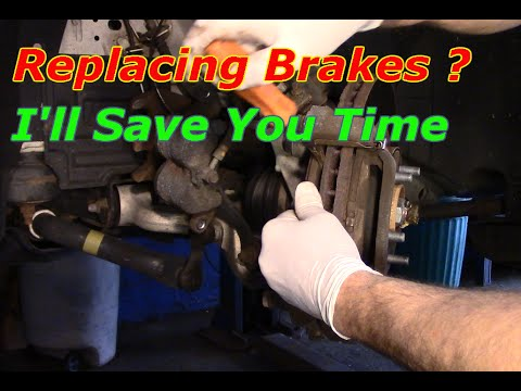 How To Replace Front  Brakes And Rotors On A 2010 Infiniti EX35