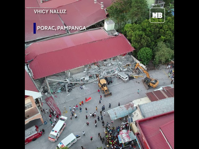 Video compilation of magnitude 6.1 earthquake in different parts of the Philippines