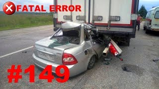 🚘🇷🇺[ONLY NEW] Russian Car Crash Compilation (26 August 2018) #149