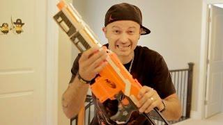Nerf War: POOP GUN!