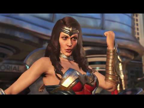 Injustice 2   Wonder Woman reveal   PS4