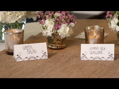 how to decorate a food table for weddings great wedding ideas youtube