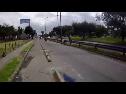 Ciclorrutas Bogota Carrera 30 y Autopista Norte hasta la 170