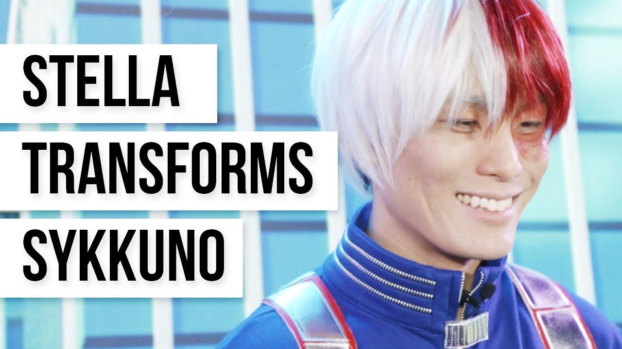 Download My Hero Academia Cosplay by Sykkuno as Todoroki Highlights - Stella Transforms